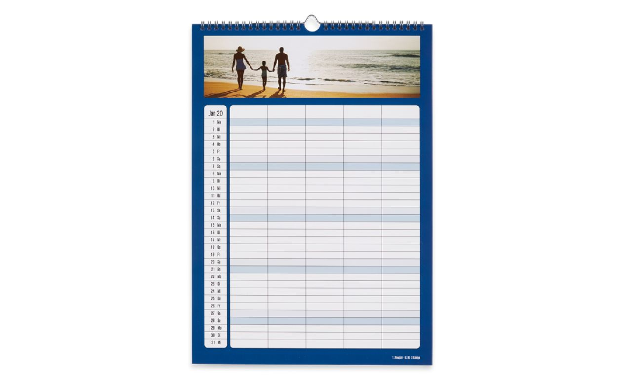 familienkalender selbst erstellen in wenigen schritten cewe. Black Bedroom Furniture Sets. Home Design Ideas