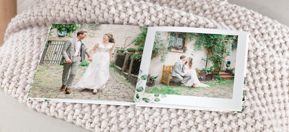 Fotobuch Als Hochzeitsfotobuch Beispiele Cewe 9