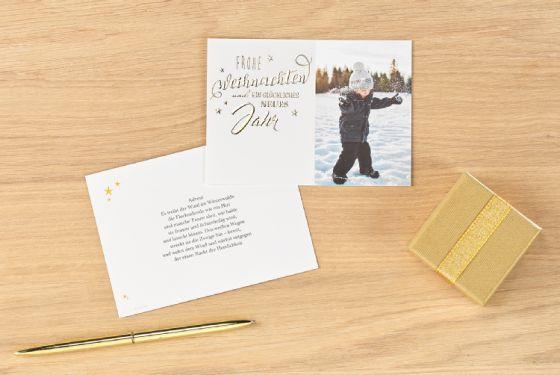 individuelle weihnachtskarten online selbst gestalten cewe. Black Bedroom Furniture Sets. Home Design Ideas