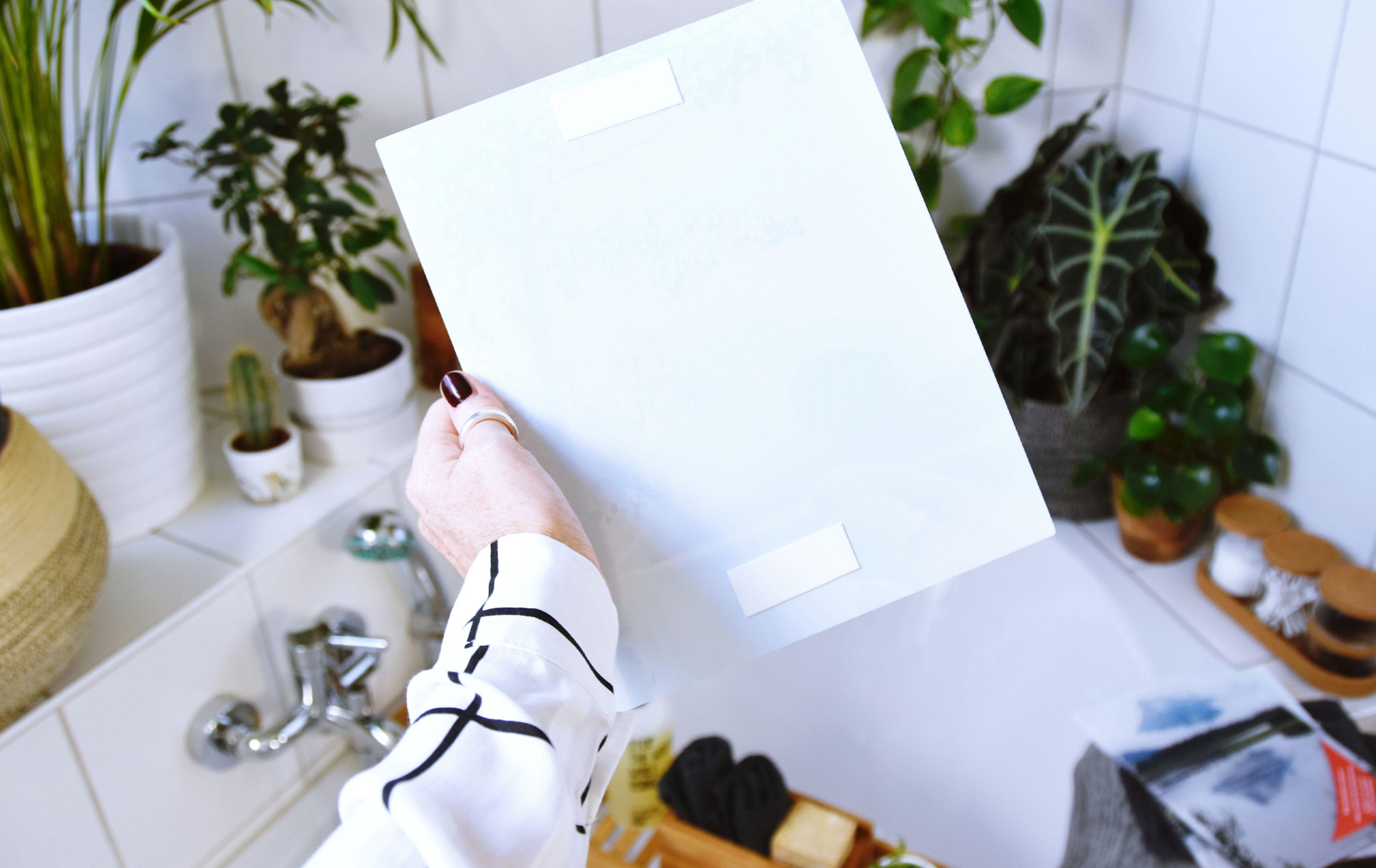 Persönliche Fotos machen Ihr Badezimmer zum Home Spa