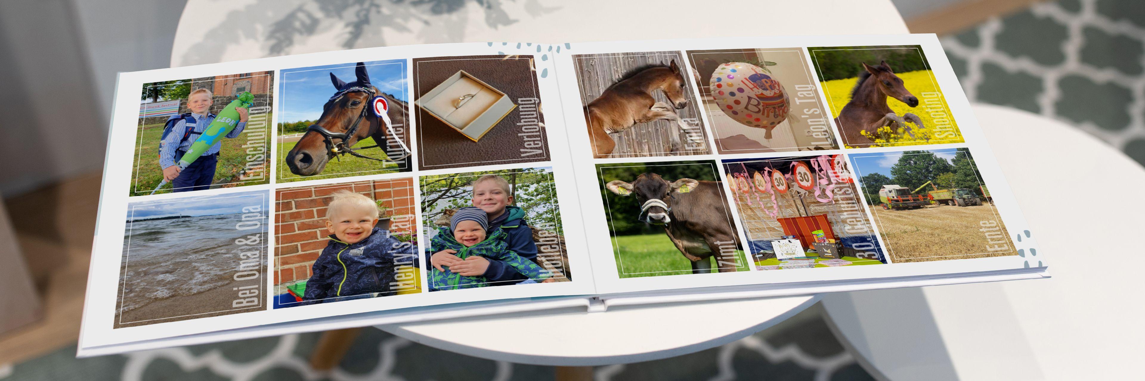 Ihr Jahr In Einem Cewe Fotobuch Cewe 12