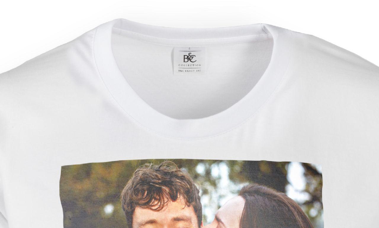 online store d5e05 e9786 T-Shirt mit Foto